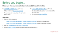 course Excel 2016 for Mac Basics