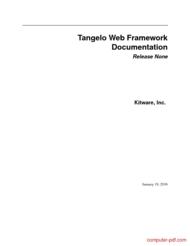 Tutorial Tangelo Web Framework Documentation