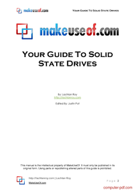 course Your Guide To Solid State Drives
