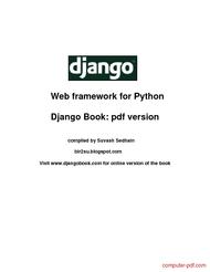 Tutorial Django Web framework for Python