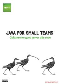Tutorial Java for small teams