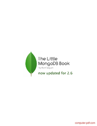 Tutorial The Little MongoDB Book