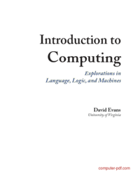 Tutorial Introduction to Computing