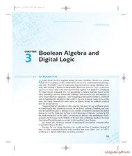 Tutorial Boolean Algebra and Digital Logic
