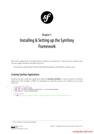 course Symfony Getting Started