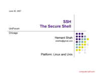 Tutorial SSH The Secure Shell
