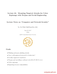 Tutorial Mounting Targeted Attacks for Cyber Espionage with Trojans and Social Engineering