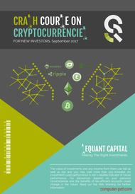 Tutorial Crash course on cryptocurrencies