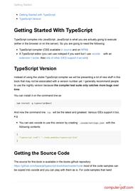 course TypeScript Deep Dive