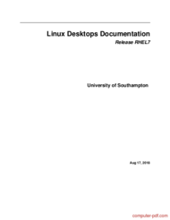 Tutorial Linux Desktops Documentation