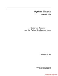 Tutorial Python Tutorial