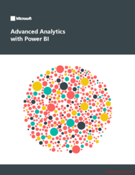 Tutorial Advanced Analytics with Power BI