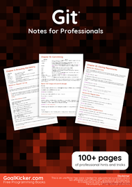 Tutorial Git Notes for Professionals book