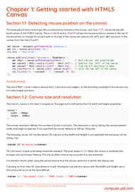 course HTML5 Canvas Notes for Professionals book