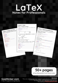 Tutorial LaTeX Notes for Professionals book
