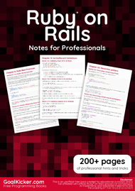 Tutorial Ruby on Rails Notes for Professionals book