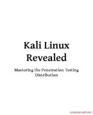 Tutorial Kali Linux Revealed
