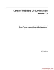 Tutorial Laravel-Mediable Documentation