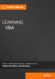 Tutorial Learning VBA