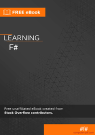 Tutorial Learning F#