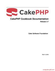 Tutorial CakePHP Cookbook Documentation