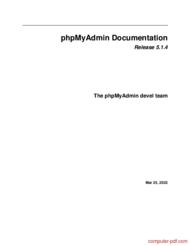 Tutorial phpMyAdmin Documentation