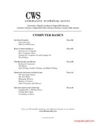 Tutorial Computer basics