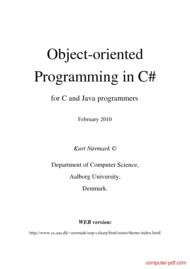 Tutorial OOP in C# language
