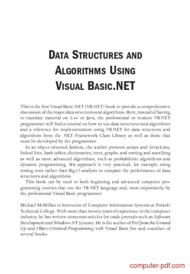 course Data structures and algorithms using VB.NET