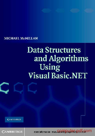 Tutorial Data structures and algorithms using VB.NET
