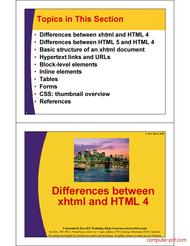 course HTML a Crash Course