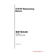Tutorial TCP/IP Networking Basics