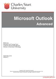 Tutorial Microsoft Outlook Advanced