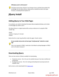 course JQuery Notes