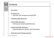 course Tutorial on Web Services