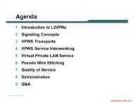 course L2VPN tutorial