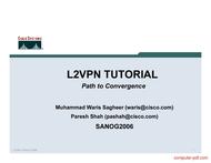Tutorial L2VPN tutorial