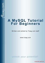 Tutorial A MySQL Tutorial for beginners