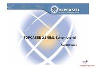 Tutorial Topcased 2.5 UML Editor tutorial