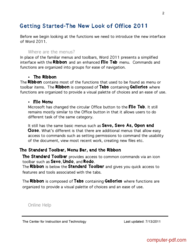 course Microsoft Word 2011 Basics for Mac