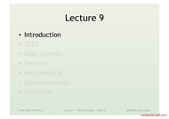 course Web API Design
