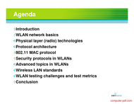 course 802.11 WLAN Systems