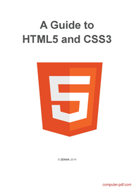 Tutorial A Guide to HTML5 and CSS3