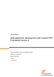 Tutorial Web application development with Laravel PHP Framework