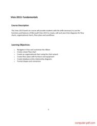course Visio 2013 Workshop