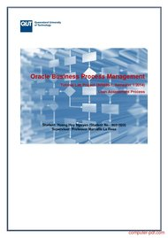 Tutorial Oracle Business Process Management