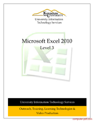 Tutorial Microsoft Excel 2010 Level 3