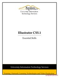 Tutorial Adobe Illustrator CS5 Essentials