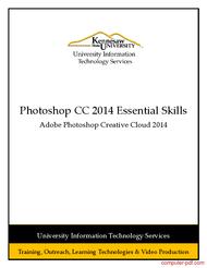 Tutorial Adobe Photoshop CC 2014 Essential Skills