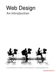 Pdf Web Design An Introduction Free Tutorial For Beginners